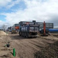 Beverwijk Germieco reconstructie wegen Haven gebied