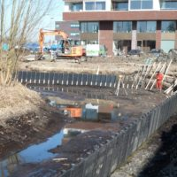 Germieco waterbouw aanbrengen beschoeiing